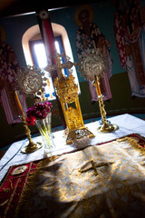 Greek Orthodox Church Interior - Naxos