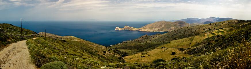 Aegean Sea Panoramic - Syros, Greece