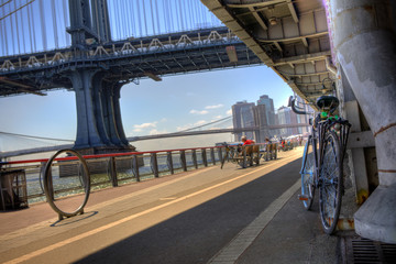 Manhattan Waterfront Bike Path