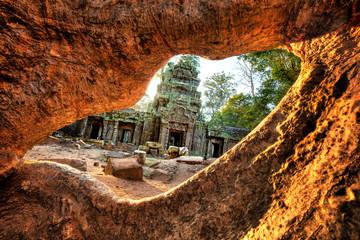 Angkor Thom Ruins - HDR