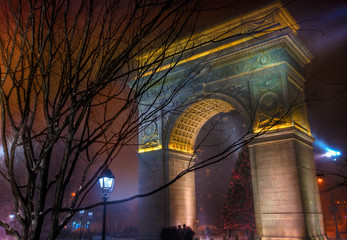 Washington Square Park Arch - New York City, NY, USA