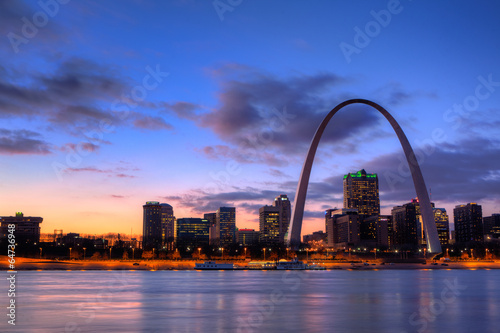 View of the Gateway Arch - St Louis, Missouri - 64736948