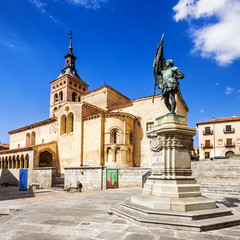 Saint Martin church in Segovia, Castilla y Leon, Spain