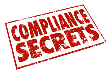 Compliance Secrets Red Stamp Advice Tips Information Help