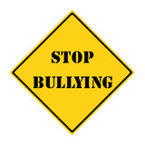Stop Bullying Sign poster