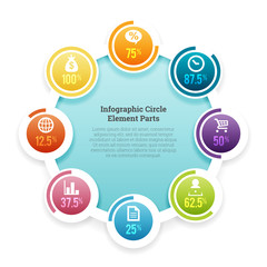 Infographic Circle Element Part