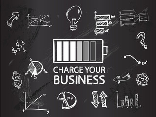 Charge your business on blackboard