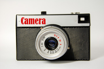 Old camera, which made in USSR