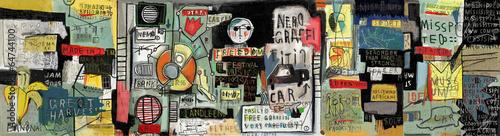 Zdjęcia na płótnie, fototapety, obrazy : граффити