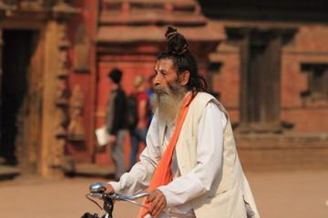 Heiliger Sadhu in Nepal