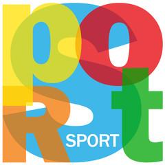 """""""SPORT"""" (exercice compétition sportif équipe santé loisirs)"""