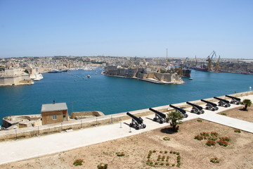 beautiful harbour of Malta