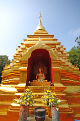 Wat Phan On temple , Chiang Mai, Thailand