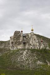 Cave Monastery in Kostomarovo, Voronezh Region, Russia