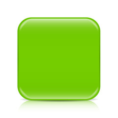 Light green blank icon template with copy space
