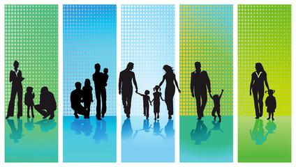 fünf Familien