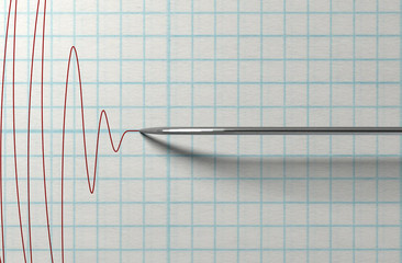 Polygraph Needle And Drawing