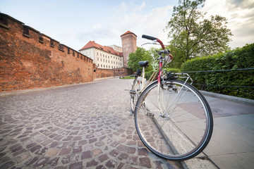 Krakow by bike