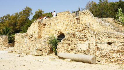 Termas de Antonino en Túnez