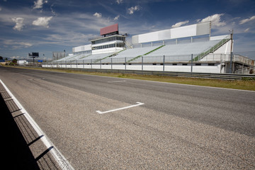 Jarama racetrack tribune