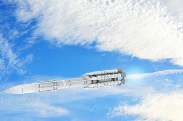 Plutonium Rakete - 3d Render