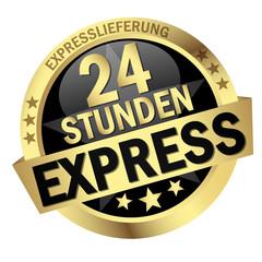 """Button mit Banner """" 24 STUNDEN EXPRESS """""""