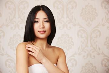 Portrait eine junge Schönheit