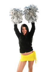 Happy cheerleader