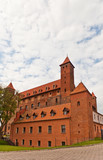 Mewe castle (XIV c.) of Teutonic Order. Gniew, Poland poster