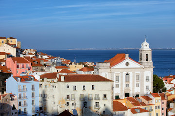 Alfama District in Lisbon