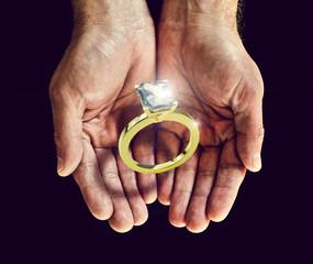 catch diamond ring
