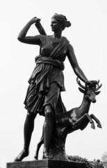 Statue Of Huntress Diana