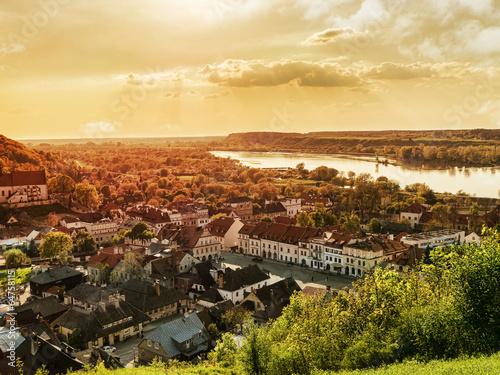 Fototapeta Panorama of Kazimierz Dolny