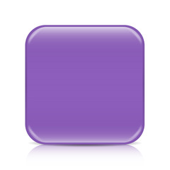 Violet blank icon template with copy space