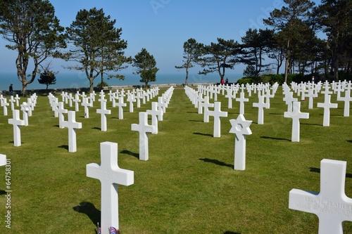 Papiers peints Monument Cimetiere Americain Omaha beach 1944-1