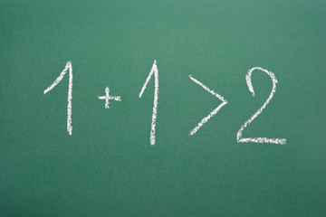 Synergistic calculation: 1+1>2