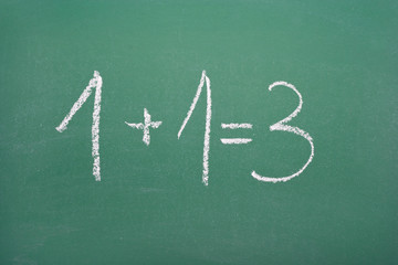 Synergistic calculation: 1+1=3