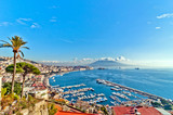 Fototapety view of Naples from Posillipo hill