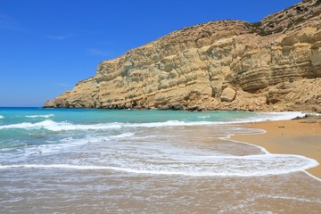 Crete - Red Beach in Matala