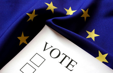 Europe, vote, flag