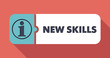 New Skills on Scarlet in Flat Design. - 64761101