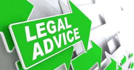 Legal Advice on Green Direction Arrow Sign.