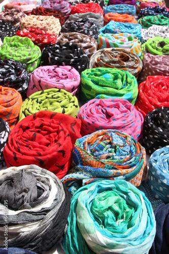 Fotobehang Algerije Chèche - foulard touareg
