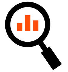 Analytics vector icon