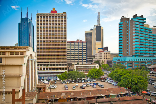 Nairobi, the capital city of Kenya - 64762994
