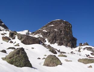 Massif de Belledonne (Roche fendue) - Isère, Alpes