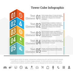 Tower Cube Infographic