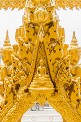 Golden Buddha statues in Thailand