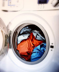 Clothes in laundry