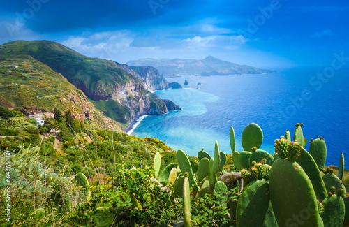 Lipari island, Italy - 64765360